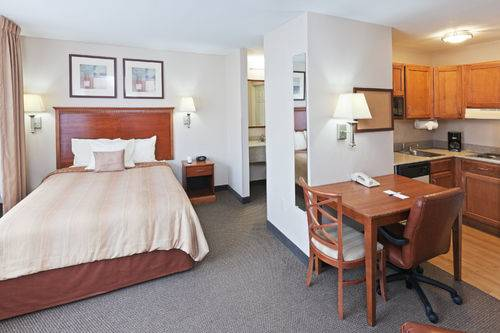Candlewood Suites Dallas Sleeping Rooms 1